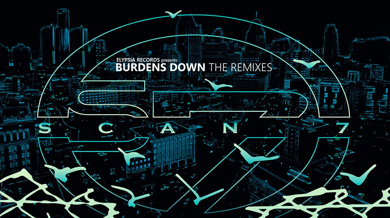 Scan 7 - Burdens Down 'The Remixes' feat. Dj Deep & Roman Poncet, Mark Flash, Orlando Voorn